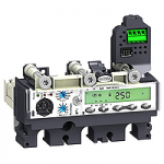 Protection of public distribution systems Micrologic 5.2 A-Z (LSI protection, ammeter) 150 A, 3P/3d