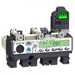 Distribution Micrologic 5.2 A, (LSI protection, ammeter) protection, 250 A, 3P/3d