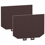 Insulation accessories, 2 insulating screens (70 mm pitch), 3P