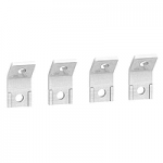 Terminal extensions, 45° terminal extensions, set of 4