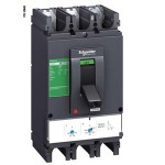 Molded case circuit-breaker CVS160F, 36 kA, 100 A, 3P/3d, Thermal-magnetic
