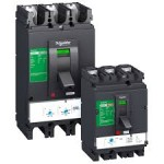 Molded case circuit-breaker CVS400N, 50 kA, 400 A, 3P/3d, ETS 2.3