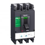 Molded case circuit-breaker CVS400N, 50 kA, 400 A, 4P/3d, 4d, 3d + N/2, ETS 2.3