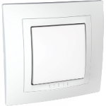 Complete one-way Switch, 10 AX, White