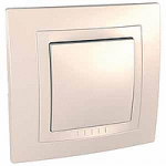 Complete Push-button, 10 A – 250 V AC, Ivory