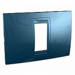 Italian Cover Frame Unica Allegro, Glacier blue, 1 module