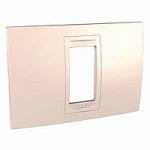 Italian Cover Frame Unica Allegro, Cream, 1 module
