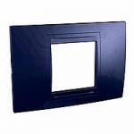 Italian Cover Frame Unica Allegro, Indigo blue, 2 modules