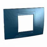 Italian Cover Frame Unica Allegro, Glacier blue, 2 modules