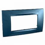 Italian Cover Frame Unica Allegro, Glacier blue, 4 modules
