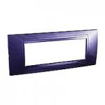 Italian Cover Frame Unica Allegro, Indigo blue, 6 modules