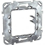 "Universal fixing frame with short fixed claws, ""Zamak"", 1-gang"