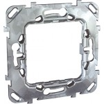 "Universal fixing frame without claws, ""Zamak"", 1-gang"