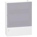 Mini Pragma surface enclosure 2 x 12, with Translucid door