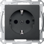 SCHUKO® Socket-outlets for special circuits, Anthracite
