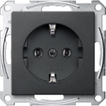 Socket-outletSCHUKO®, Anthracite