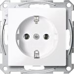 Socket-outletSCHUKO® 16 A, AC 250 V, DIN 49440, Aluminium