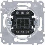 Rocker switch insert 16 A, one-way, 3-pole
