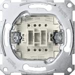 Two-way switch insert 1 pole, 10 AX, AC 250 V, screwless terminals