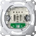 One-way switch insert 1 pole with locator light, 10 AX, 250 V AC, screwless terminals
