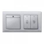 Hotel keycard holder, Aluminium