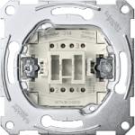 One-way switch insert 2 pole 16 AX, 250 V AC , screwless terminals