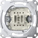Two-way switch insert 1 pole 16 AX, 250 V AC , screwless terminals