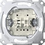 Roller shutter push-button insert 1 pole, 10 A, AC 250 V, screwless terminals