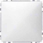 Cover plate for Carrying frame with central plate with ring support, Polar White