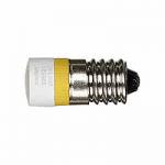 LED lamp AC 230 V, yellow