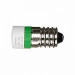 LED lamp AC 230 V, green