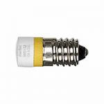 LED lamp AC 24 V, yellow