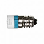 LED lamp AC 24 V, blue