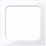 Central plate for light signal insert, Active White