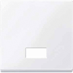 Cover plate for Rocker Double swich or button, Active White