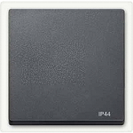 Cover plate for Rocker Single swich or button, Anthracite IP44