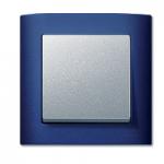 Cover plate for RockerSingle swich or button, Aluminium