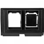 Insert for connectors, universal, black