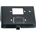 Insert for D-type plug connectors, 9-pole, black
