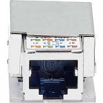 Reichle & De-Massari connection module, shielded, Cat 6, 1xRJ45/s
