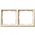 Artec frame, 2-gang, White