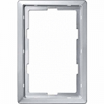 Artec frame, 1.5-gang, Aluminium
