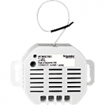 CONNECT radio receiver, flush-mounted, 1-gang switch