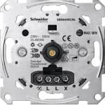 Universal rotary dimmer insert 20-600 W/VA