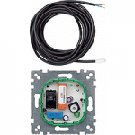 Floor thermostat insert with switch AC 230 V, 10(4) A