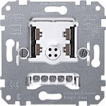 Universal dimmer insert, 2-gang, 2 x 50-200 VA