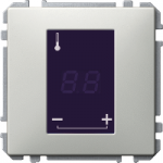 Universal temperature control unit insert with touch display