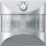 ARGUS 180 flush-mounted sensor module with switch, Aluminium