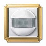 ARGUS 180 flush-mounted sensor module with switch, Polar White