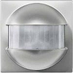 ARGUS 180 flush-mounted sensor module with switch, Stainless steel